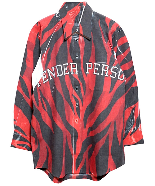 【TENDER PERSON(テンダーパーソン)】DARTH MAUL HARD PRESSED SHIRTS シャツ(SF-TO-3232-A)