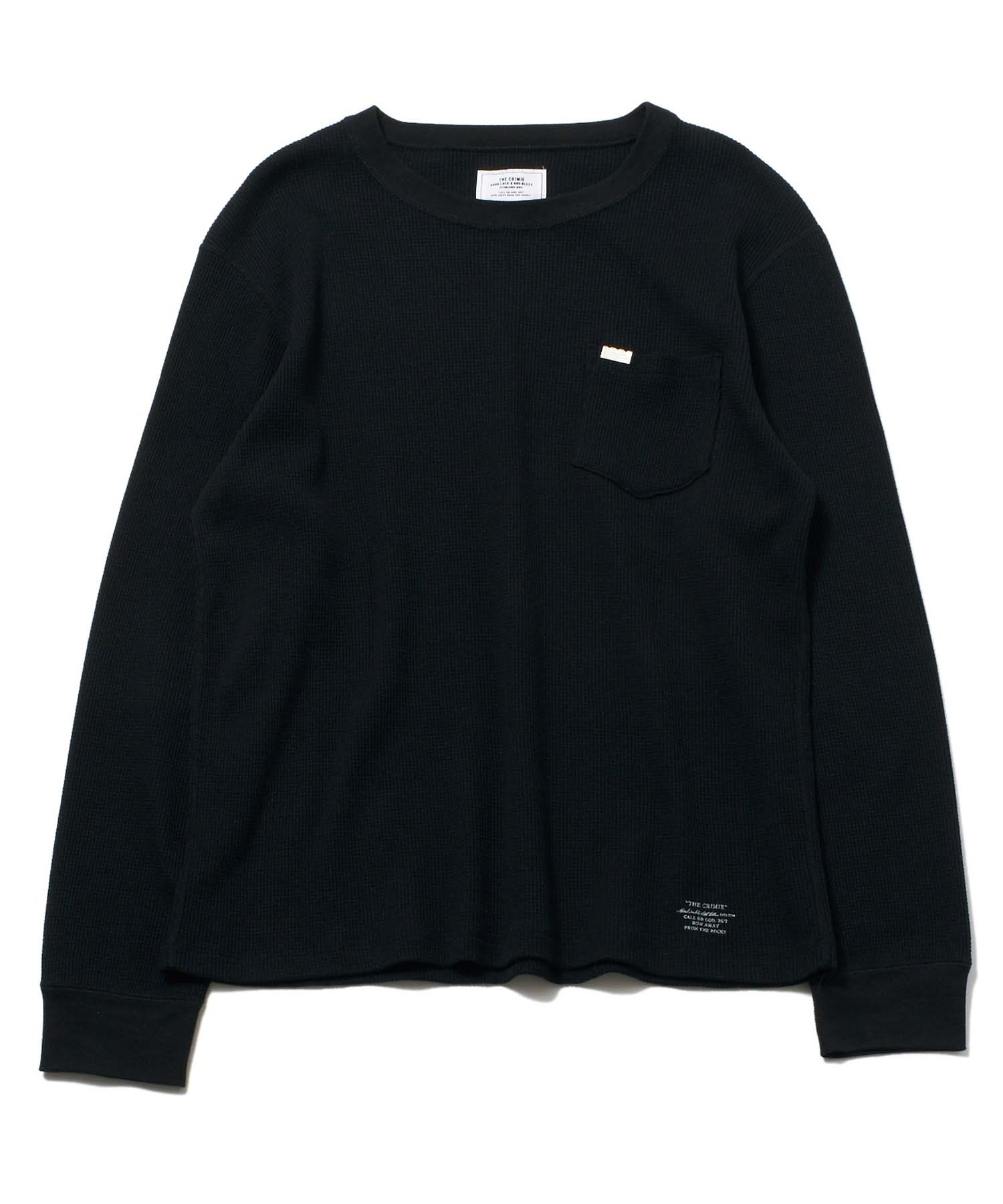 【CRIMIE(クライミー)】VINCENT THERMAL LONG SLEEVE TEE ロングスリーブT(CR1-02L5-CL02)