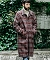 【MROLIVE(ミスターオリーブ)】SUPER 100s CHECK CLOTH -BIG SILHOUTTE LONG COAT コート(M-19371)
