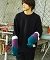 【EFFECTEN(エフェクテン)】light up path dolman sleeve knit(Blue type) ニット(efsp20aw-01)